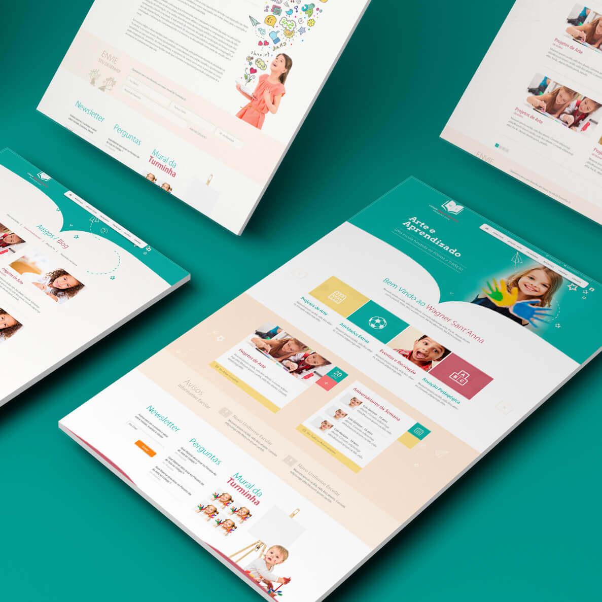 Sites e Lojas Virtuais Gerenciáveis / Mobile